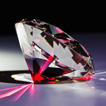 Disco – Diamond with laser